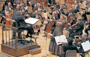 En las sinfónicas hay tres grupos de instrumentos. Viento: flautas, oboes, clarinetes, fagotes, cornos, trompetas, trombones, tubas, corno inglés, saxofón, clarinete bajo, tubas wagnerianas. Percusión: timbales, triángulo, tambor, platillos, gong, campanas, castañuelas. Cuerdas: violines primeros, violines segundos, violas, violenchelos, contrabajos