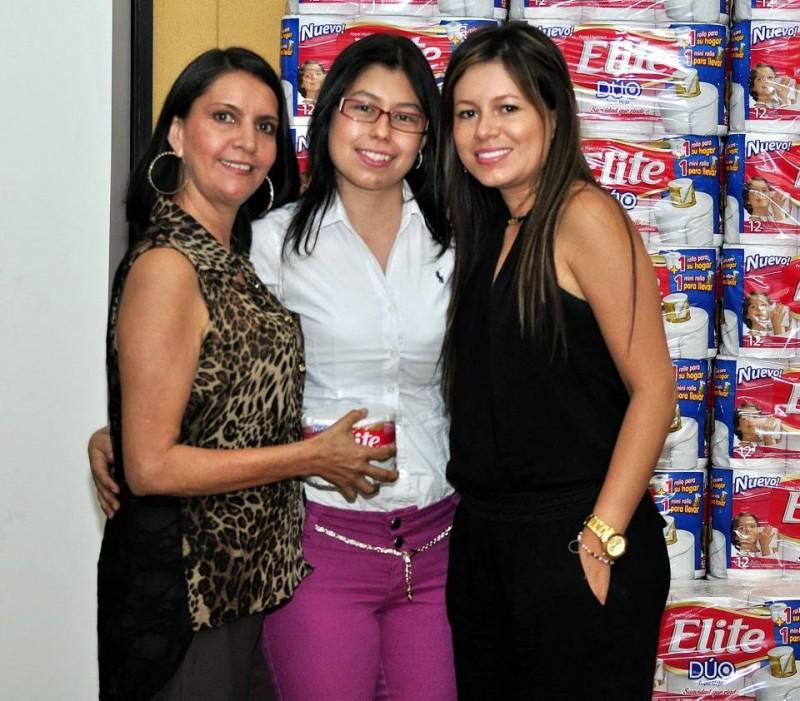 Sonia Mesa, Juliana Pérez, Yury Ariza. - Laura Herrera /GENTE DE CABECERA