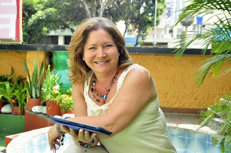 """Martha Liliana Ruiz dice que la actuación ha sido su único sustento durante 30 años. """"Es lo que me gusta y me disfruto"""""""