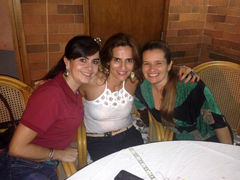 Silvia Vásquez, Sandra Silva y Gloria Carvajal. - Suministrada / GENTE DE CABECERA