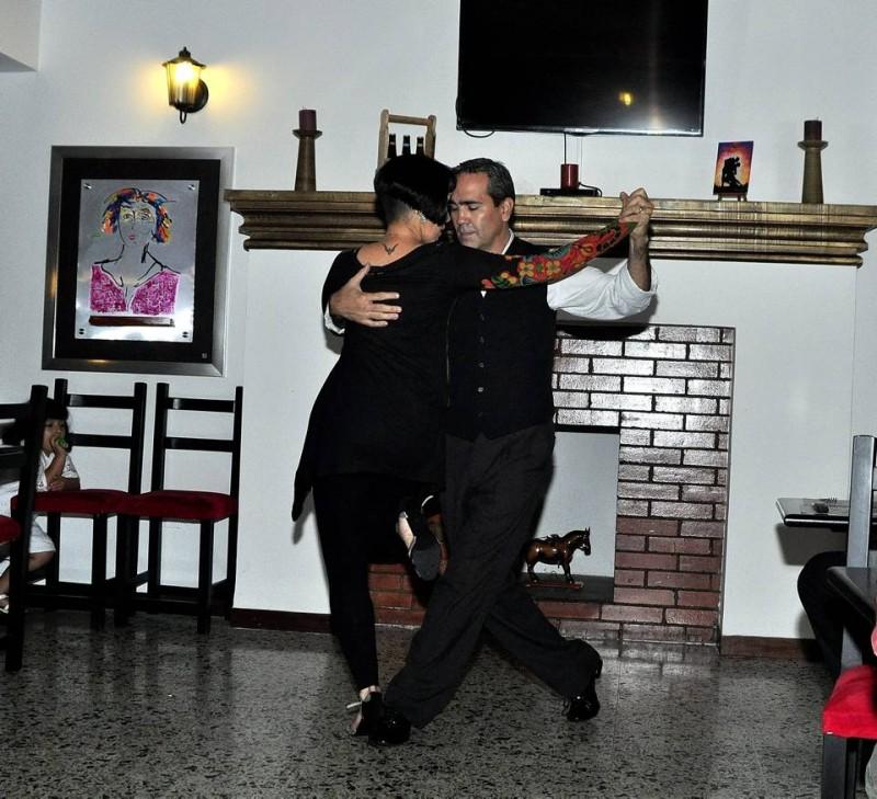 La pareja baila profesionalmente desde hace 13 años