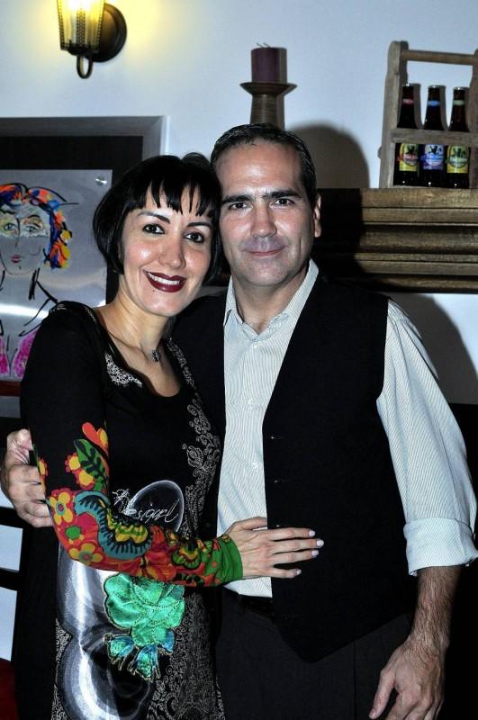 Adriana Cadena y Gustavo Ruiz se encontraron, como las 'media naranja' gracias al tango