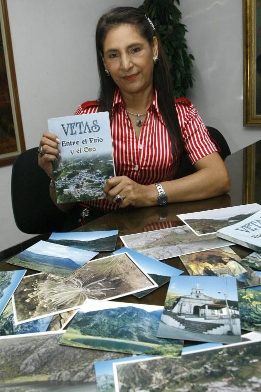 Hace más de un año Yolanda terminó el libro que escribió durante casi ocho años. Lo considera un homenaje a su pueblo natal