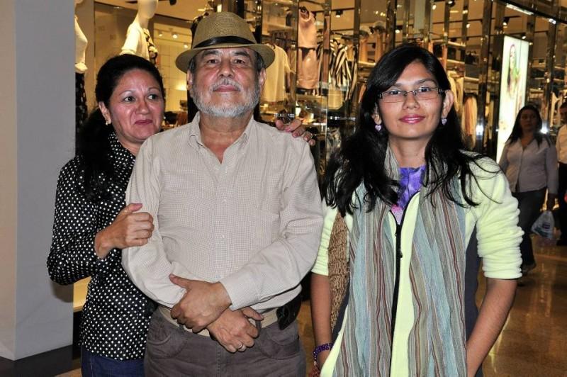 Fanny Janeth Villarreal, Rafael Abello y Laura Abello Villareal. - Laura Herrera / GENTE DE CABECERA