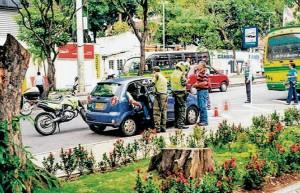 El operativo principal se realizó el lunes frente al parque San Pío. - Suministradas Prensa Alcaldía Bucaramanga /GENTE DE CABECERA