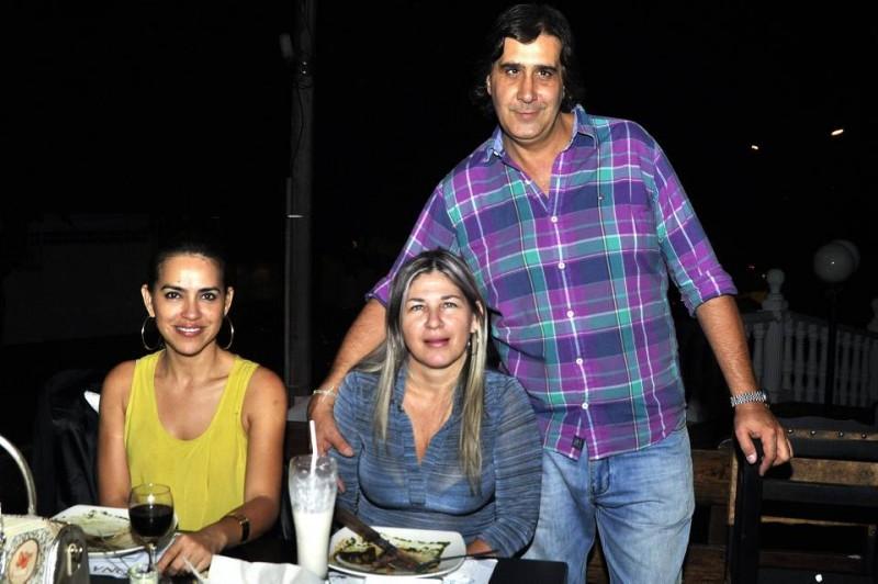 Sandra Martínez, Luz Muñoz y Pablo Molina. - Laura Herrera / GENTE DE CABECERA