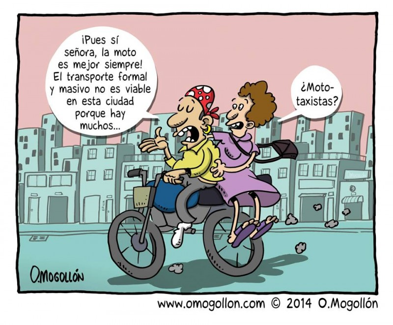 Competencia ilegal (caricatura de la semana, por @Omogollón)
