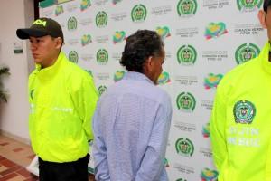 El detenido está bajo las órdenes del Juzgado Segundo de Garantías Ambulantes de Bucaramanga
