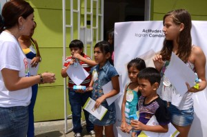 Los talleres se seguirán desarrollando en otros barrios del área metropolitana de Bucaramanga. - Suministrada /GENTE DE CABECERA