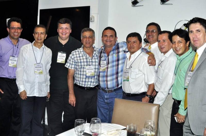 Fidel Vásquez, Pablo López, Jonny Ardila, Carlos Díaz, Ricardo Guzmán, Víctor Irreño, César Alzate, Luis Guerra, Omar Páez y Helio Rueda. - Laura Herrera /GENTE DE CABECERA
