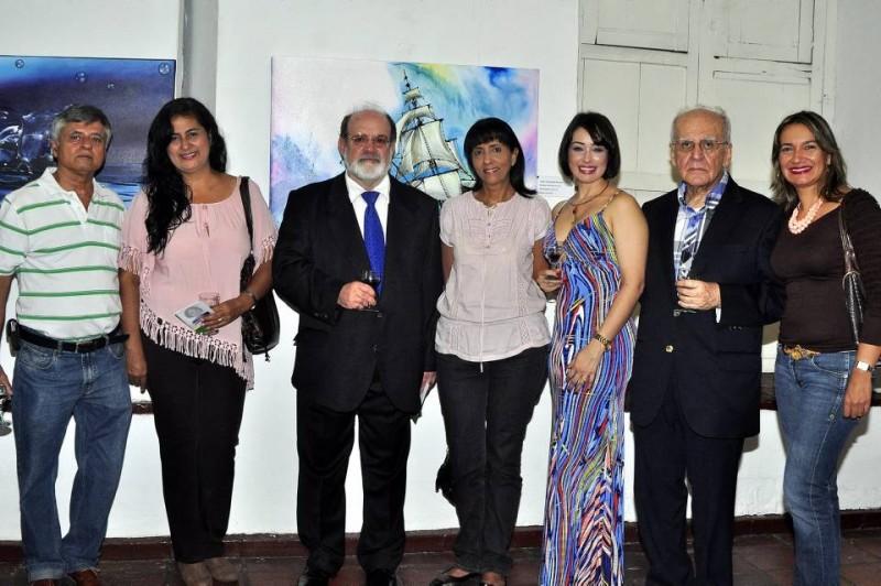 Ernesto Lizarazo, Doris Moreno, Mario Gómez Díaz, Yadira Polo, Claudia Rey, Jaime Luis Gutiérrez y Marcela Rodríguez. - Laura Herrera / GENTE DE CABECERA