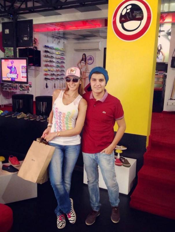 Laura Acuña y Sergio Andrés Serrano. - Suministrada / GENTE DE CABECERA