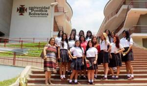 Visitaron algunas universidades para recibir orientación sobre su elección de carrera universitaria.