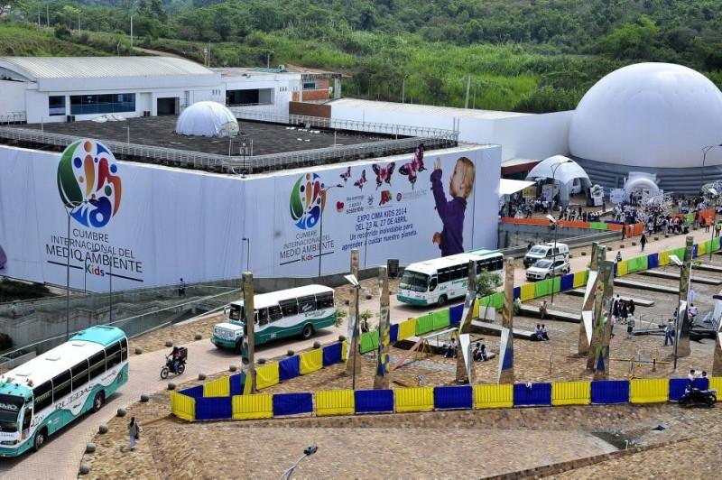 Neomundo fue el lugar que recibió a niños y adultos que participaron en las actividades lúdicas y educativas en pro del medio ambiente.