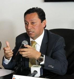 Luis Francisco Bohórquez, alcalde de Bucaramanga.