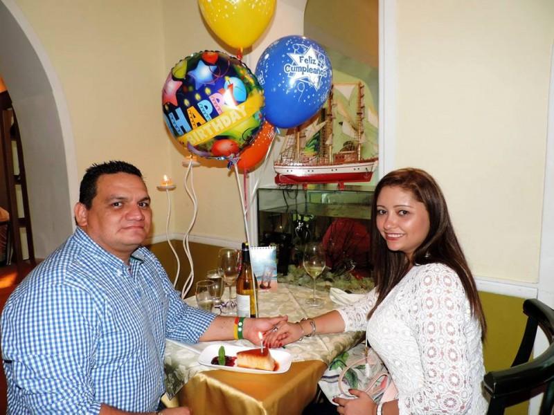 Luis Enrique Pedraza Rodríguez y su esposa Leticia Plata Romero. - Suministrada /GENTE DE CABECERA