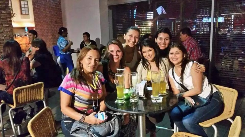 Silvia Sarmiento, Andrea Plata, Diana Reyes, Verónica Rincón, Natalia Villalba y Johana Rincón. - Suministrada /GENTE DE CABECERA