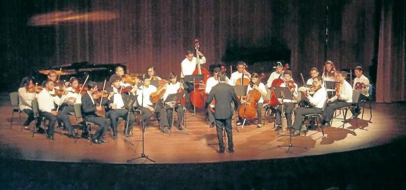 La Orquesta Filarmónica de Santander ha hecho conciertos en distintos auditorios de Bucaramanga