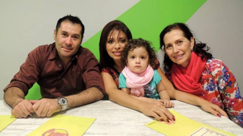 Francisco Cabeza, Ana Mercedes Vargas, Victoria Lancheros Vargas y Mercedes de Vargas. - Suministrada /GENTE DE CABECERA