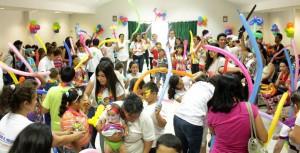 Los pequeños disfrutaron de la fiesta del Día del Niño, celebrada el 26 de abril. - Suministrada / GENTE DE CABECERA