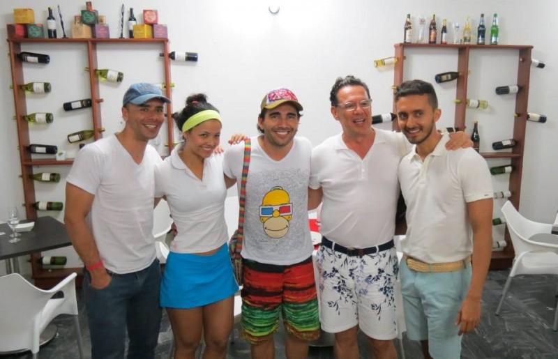 Óscar Botero, Melissa Morales, Fabián Mendoza, Pedro Ramírez y Edwin Moreno. - Suministrada /GENTE DE CABECERA
