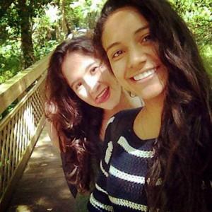 Yeimy Daza y Angie Osorio.