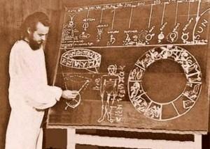 Serge Raynaud de la Ferriere en una de sus disertaciones científicas. - Suministrada / GENTE DE CABECERA