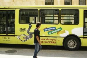 Esta sería una de las imágenes que rodarían en los buses de Metrolínea. - Suministrada www.logisticacr