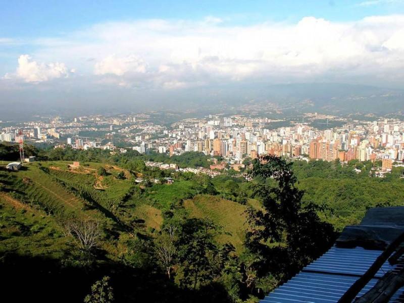 Cerros orientales de Bucaramanga.