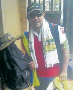 José Vega Rodríguez tiene casi todo listo para viajar a Brasil