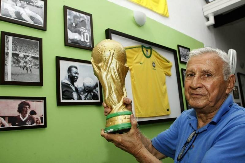 Reinaldo D'Silva espra que su Brasil gane nuevamente la Copa del Mundo.
