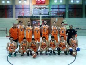 Equipo masculono de baloncesto de la Unab. - Suministradas / GENTE DE CABECERA