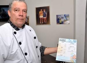 Martín se especializó en los temas gastronómicos y ha hecho una carrera importante