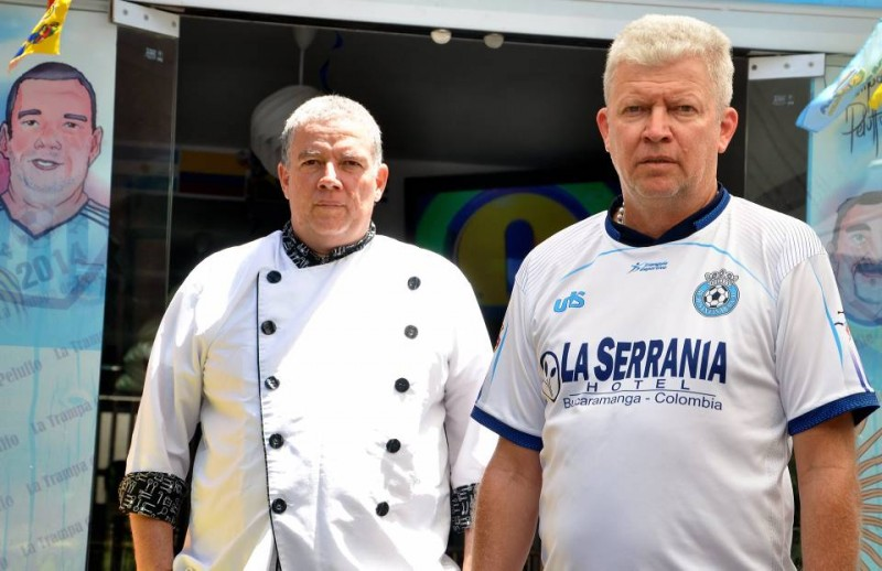 Norberto José y Martín hoy viven los dos en Bucaramanga