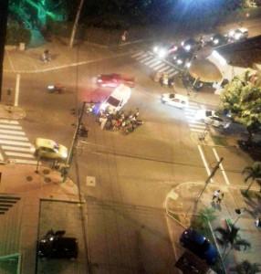Este fue uno de los últimos accidentes ocurrido en la calle 36 con carrera 28. - Suministrada / GENTE DE CABECERA