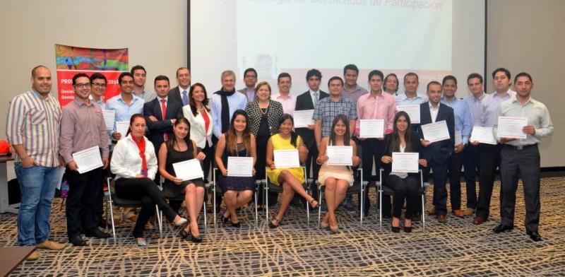 En la imagen los ganadores del Proyecto Sinergia. - Suministrada Manuel Reyes / GENTE DE CABECERA
