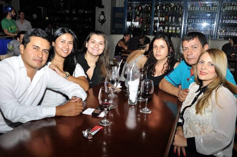 Wilmer González, Mabel González, Viviana Barón, Laura Amaya, Guillermo Castro y Lina Bonilla. - Laura Herrera /GENTE DE CABECERA