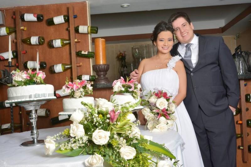Yesid Francisco Montañez Villarreal y María Ximena Valderrama Jaimes. - Suministrada: Manuel Navarro / GENTE DE CABECERA