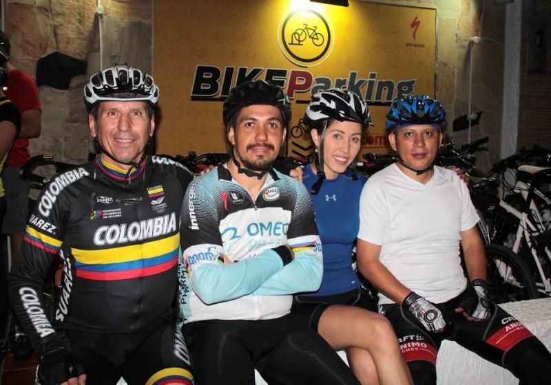Gonzalo Carvajalino, Javier Espinosa, Andrea Moreno y Juan Carlos Parra. - Javier Gutiérrez / GENTE DE CABECERA