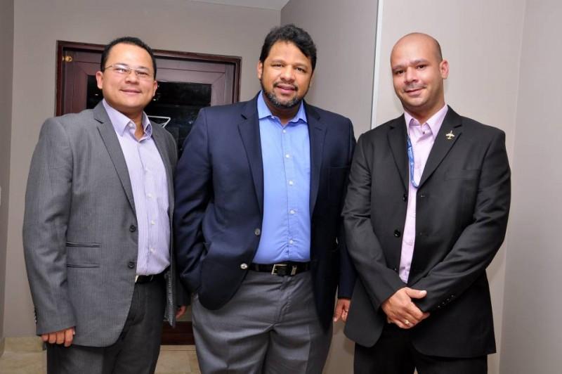 José Rodríguez, Mario Velásquez y Ricardo Castillo. - Laura Herrera / GENTE DE CABECERA
