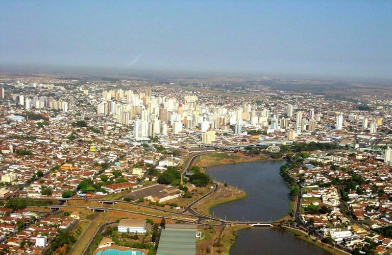 Panorámica de San José de Rionegro, Brasil, ciudad natal de Inés Rossi de Quijano.