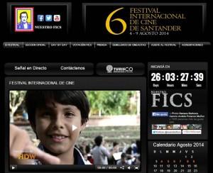 En la página web www.nuestrofics.com encontrará toda la programación del evento de cine más importante de Santander. - Tomada de Internet / GENTE DE CABECERA
