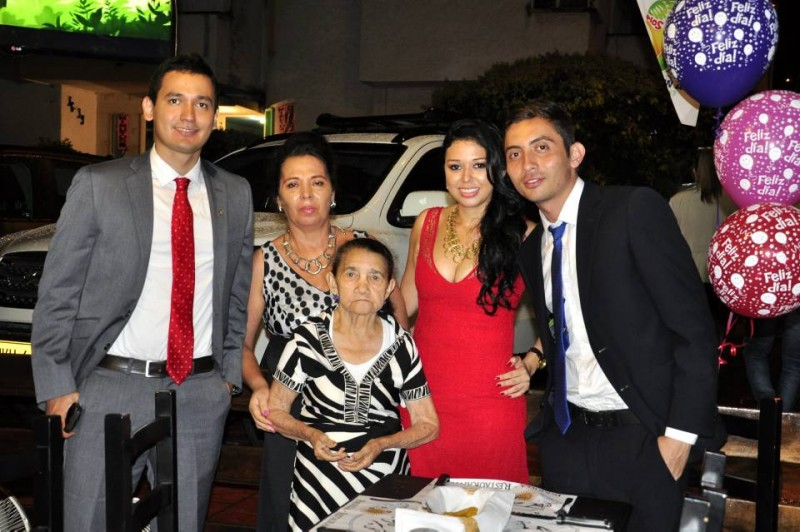 Carlos Ariza, Luz Marina Contreras, Luisa Sánchez, Leida Claro y Dany Téllez. - Laura Herrera / GENTE DE CABECERA