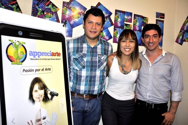 Los creadores de Appreciarte, un sitio dedicado a los artistas y a la cultura bumanguesa