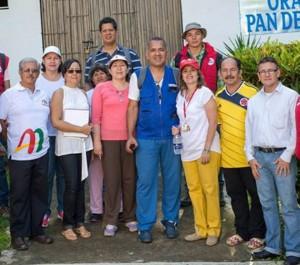 Con líderes del sector y de funcionarios del AMB, se realizó una visita a Los Cedros, Pan de Azúcar bajo y La Floresta. - Suministrada / GENTE DE CABECERA