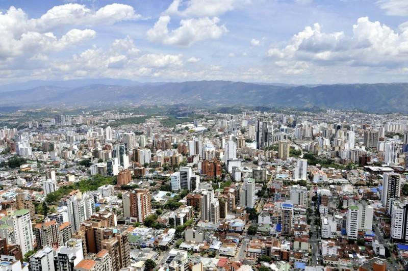 Una total visibilidad de Bucaramanga y su área metropolitana se logra desde este punto, ubicado a 163 metros del piso.