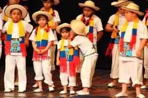 Los niños son los protagonistas en este certamen que les permite mostrar sus capacidades artísticas