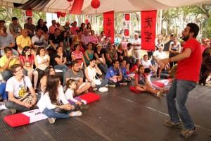 En el teatro Corfescu, en parques, colegios, universidades y otros municipios estará Abarpalabra