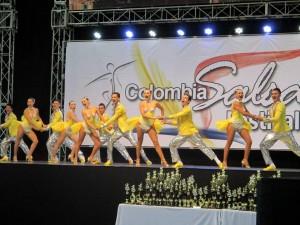 La agrupación Clave Latina, una de las ganadoras en el concurso de salsa efectuado en Medellín. - Suministrada / GENTE DE CABECERA