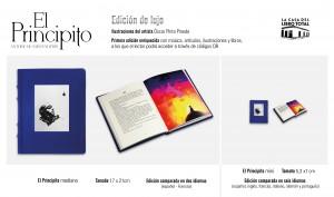 EL PRINCIPITO PUBLICIDAD LIBROmediano y mini